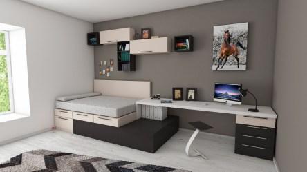 Decoración de cuartos en color gris ♥ IDEAS Y CONSEJOS