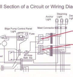 dc electrical system design wiring your boat boating world dc boat wiring diagram [ 1609 x 936 Pixel ]