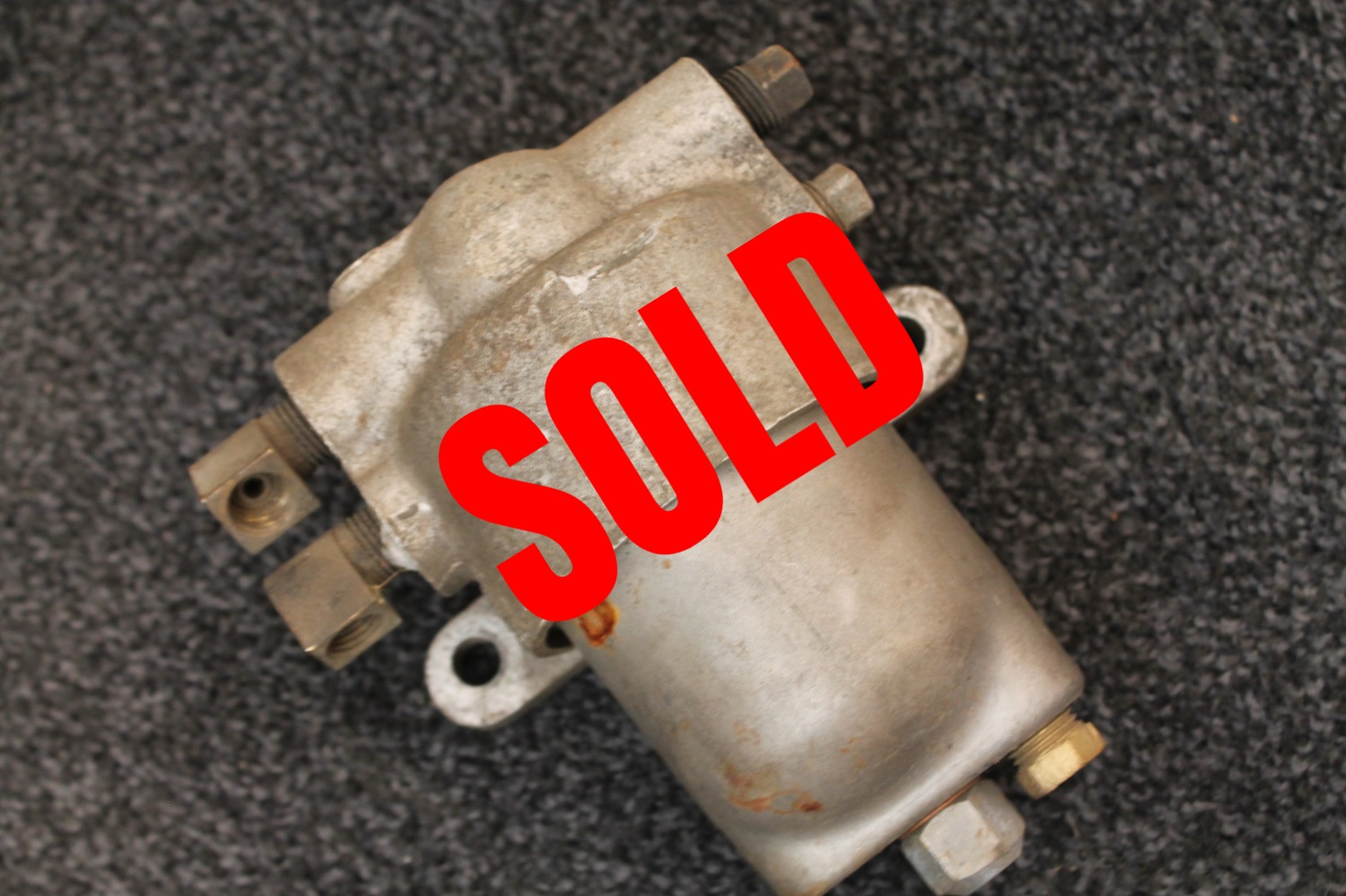 hight resolution of this is the later aluminum version housing that replaced the early wwii cast iron fuel filter it is correct for early m37 v41 and m42 up to serial