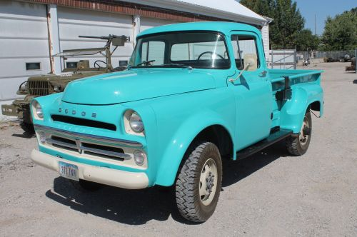 small resolution of 1957 dodge power wagon w200 prototype serial 1