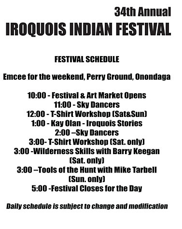 Festivals at the Iroquois Indian Museum, Howes Caves, NY