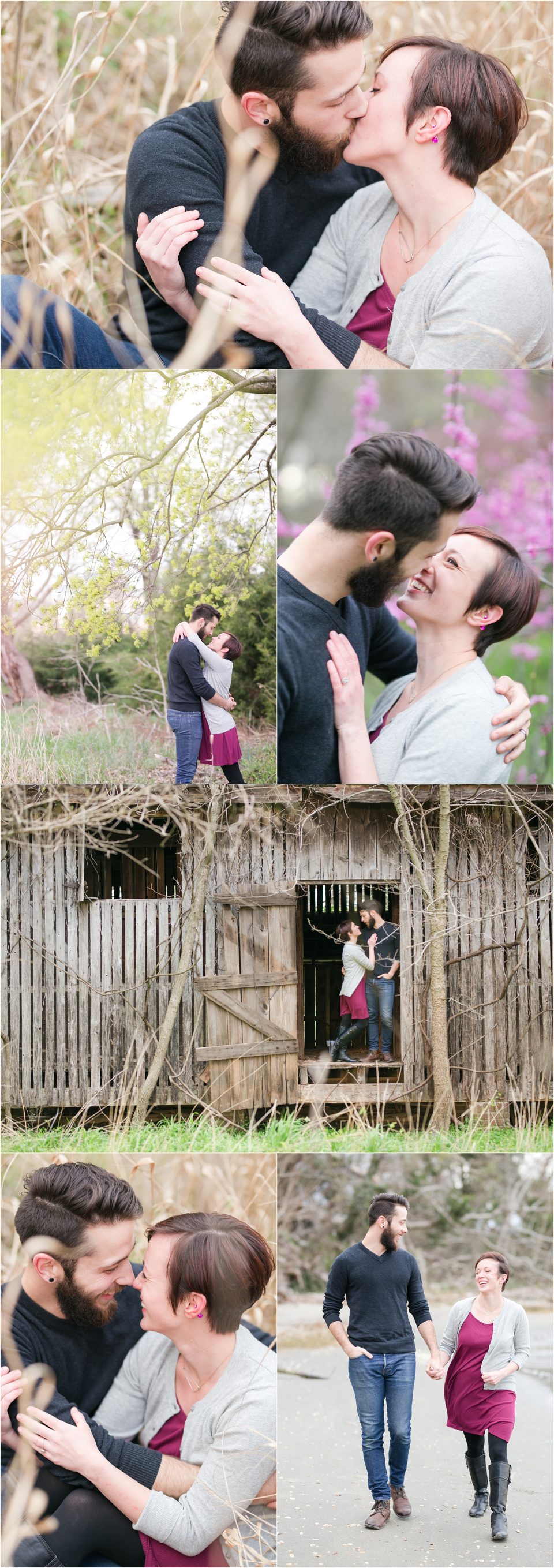 southern maryland engagement session