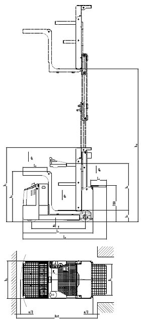JX1 Order Picker / Red Forklifts Pte Ltd