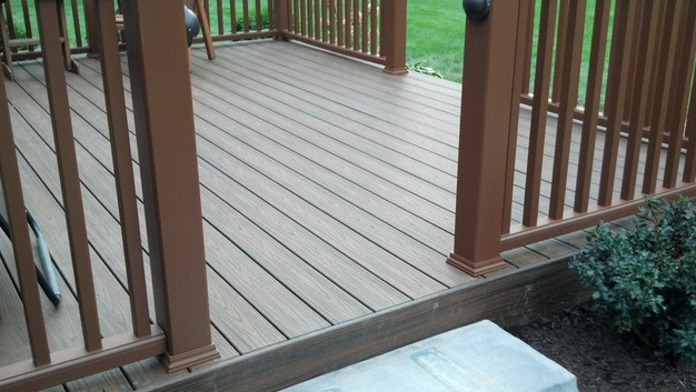 Pressure Treated Vs Composite Decks | Pressure Treated Stair Treads | Live Edge | Outside | Picture Frame | Step | Unsafe