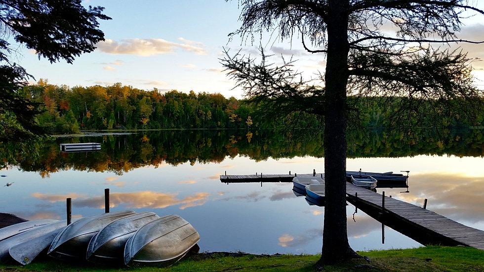 Bent Trout Lake Campground  LAKE