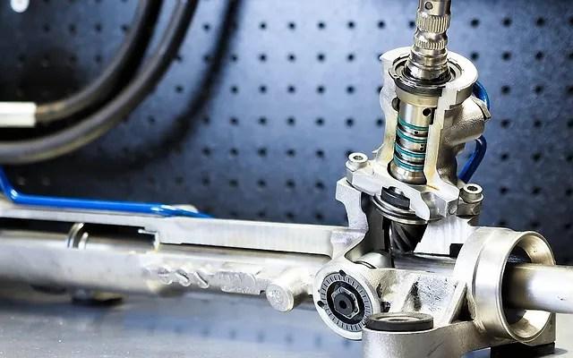 power steering fluid leak lpsr