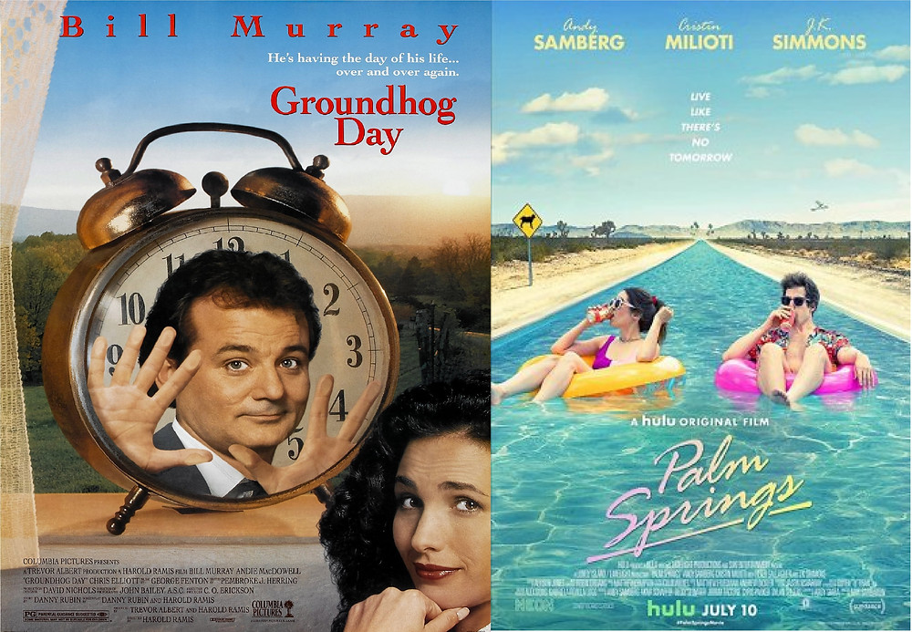 film off groundhog day 1993 vs palm