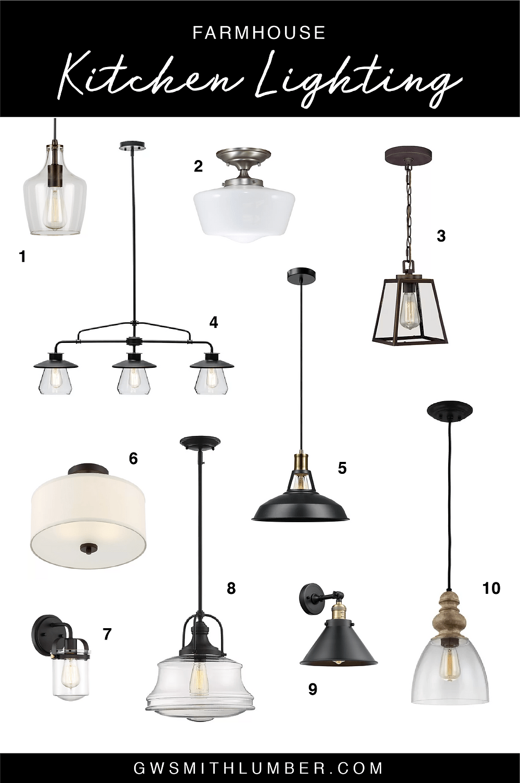 kitchen lighting from wayfair 2020
