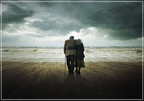 entwined growing old together forlorn love letter