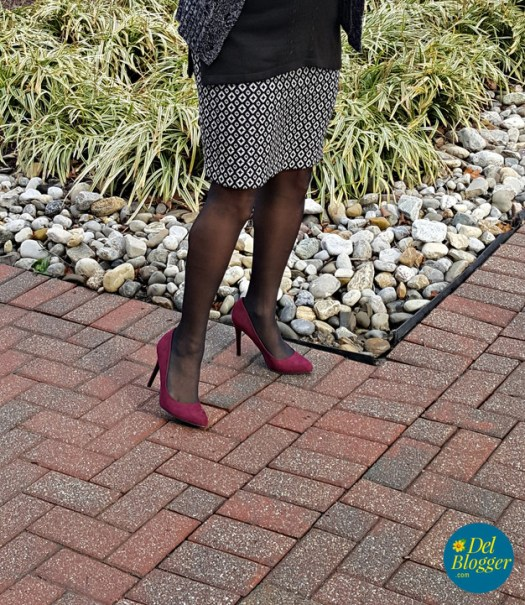 Suede pumps from Kohl's