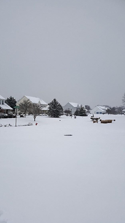 snow in Summit Farms 2017