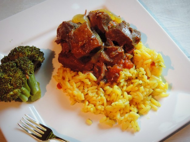 Slow Cooked Beef Cubes