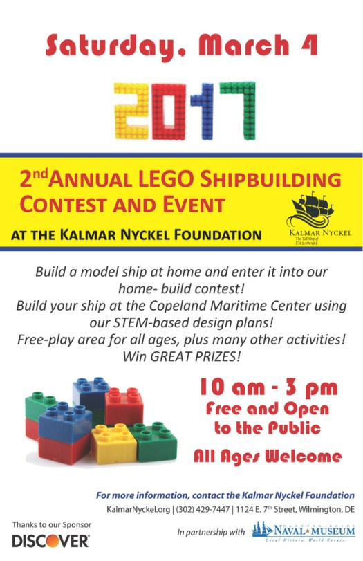 Kalmar Nyckel Lego Event