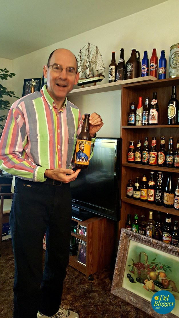 Webmaster Ray in his Beer Room