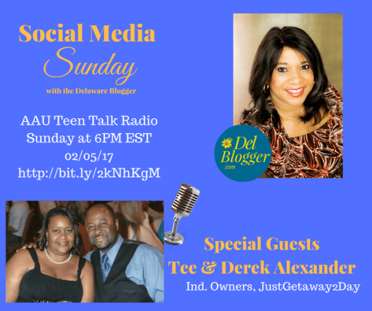 Social Media Sunday with the Delaware Blogger