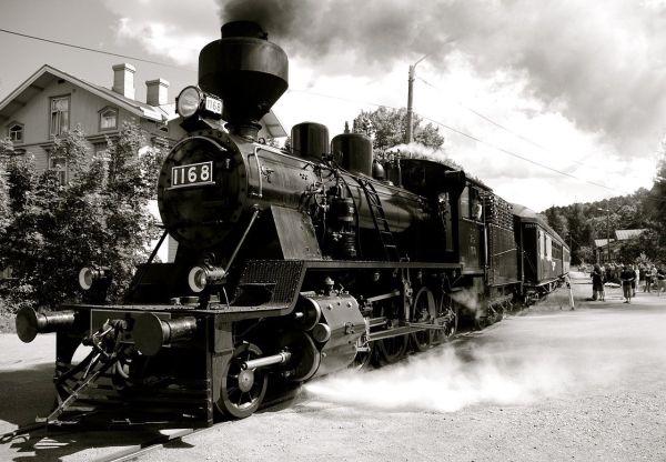 Industrial Revolution Steam Train