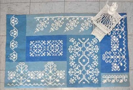 nouer broder ou crocheter des tapis