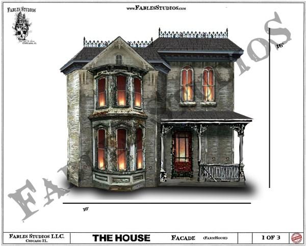 Haunted House Animatroincs Chicago Fables Studios