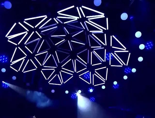 Кинетический потолок kinetic lights
