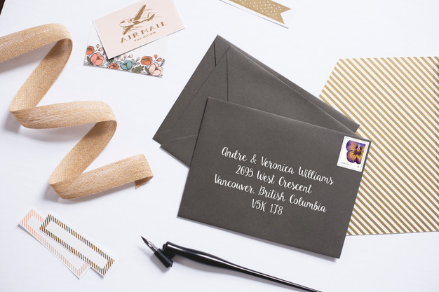 Postage Tips For Wedding Invitations