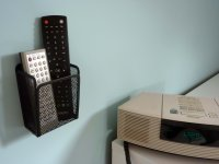 TV Remote Control Holder | Single Wall Mounted Remote Holder