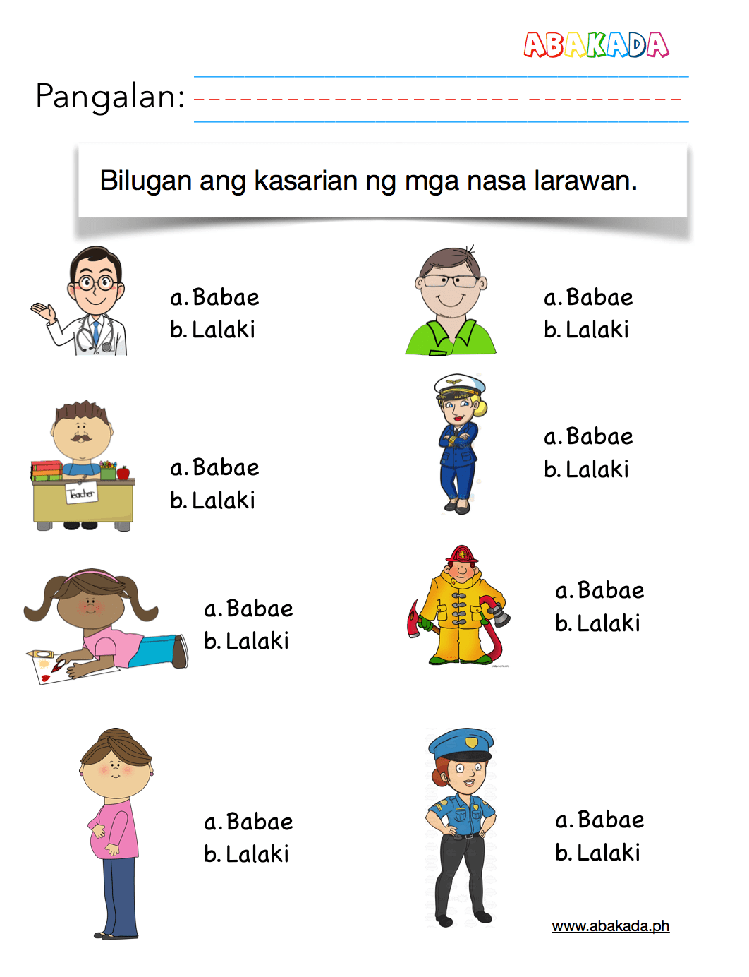 Free Araling Panlipunan And Filipino Worksheets Abakada