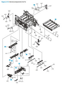 Parts Diagrams HP M452 M377 M477 Laser Printers