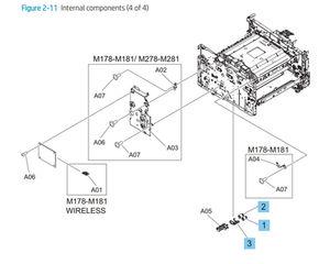 HP Color LaserJet Pro M253-M254 M278-M281 M153-M154 M178