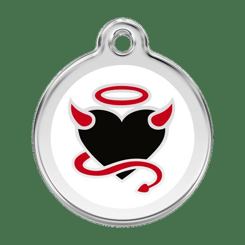angel devil heart