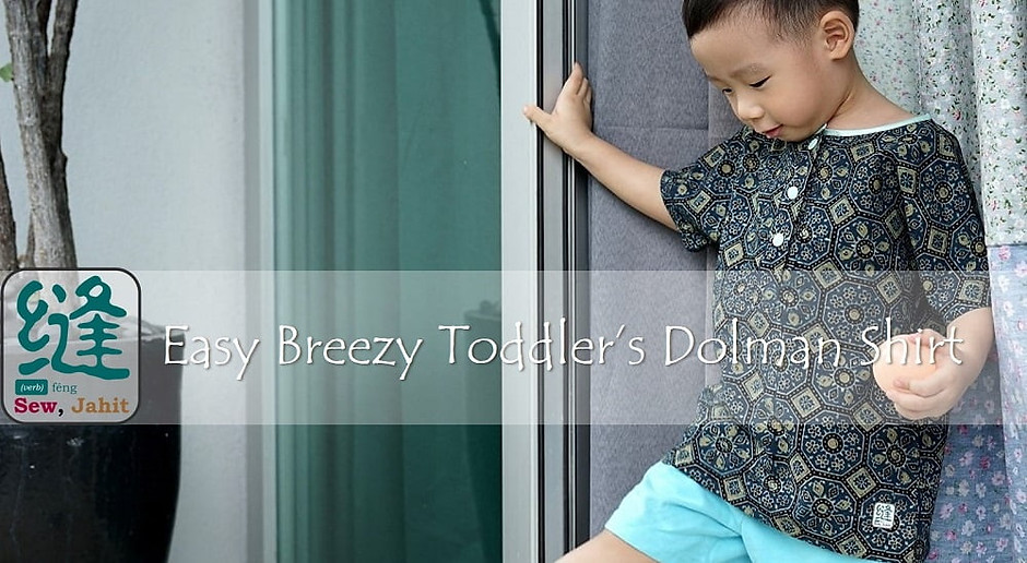 Free pattern: Dolman top for toddlers