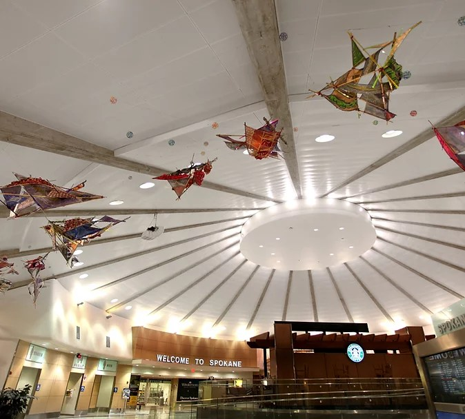 spokane wa artwork spokane airport