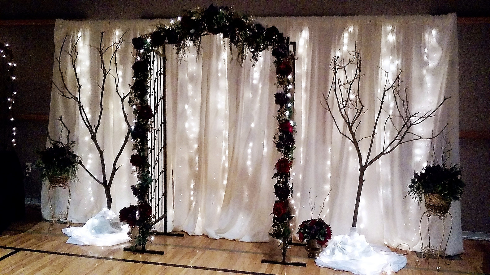 chair cover rentals utah eclectic dining chairs uk wedding autumn pkg weddings for less inc