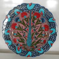 Turkish Ceramic Plates, Iznik Ceramic Plates, Ceramic Tiles