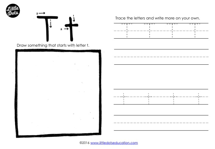 Preschool Letter T Activities And Worksheets