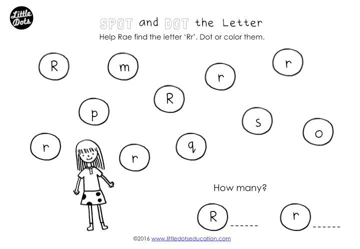 Preschool Letter R Activities and Worksheets