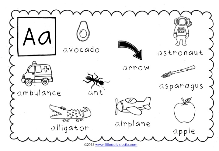 Preschool Letter A Activities and Worksheets