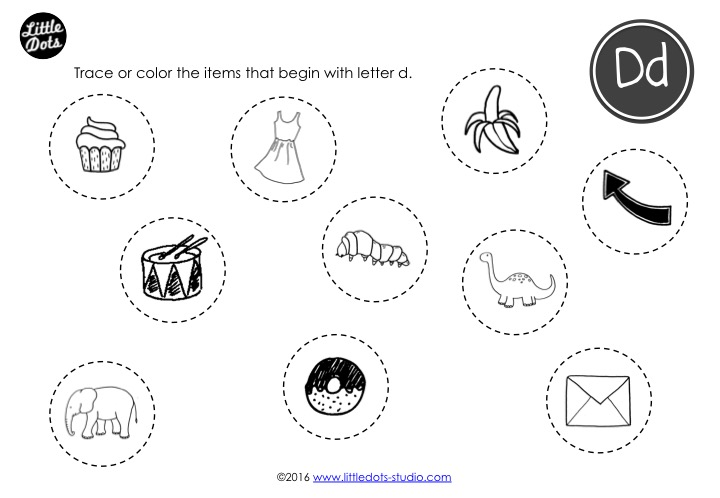 Preschool Letter D Activities And Worksheets