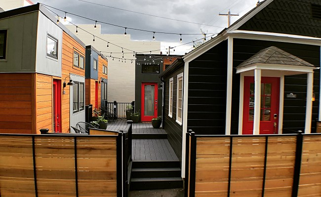 Luxury Tiny Home Hotel Portland Oregon Slabtown Village