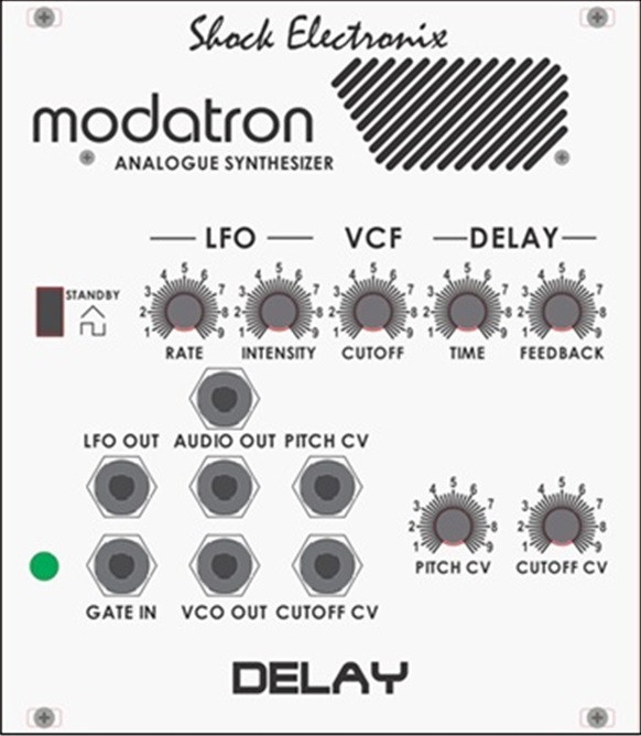 Modatron Modulator and Delay with Audio INPUT!