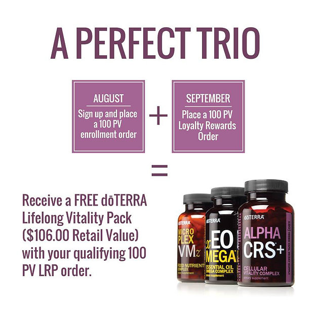a perfect trio promotion