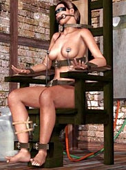 woman executed  ELECTRIC CHAIR