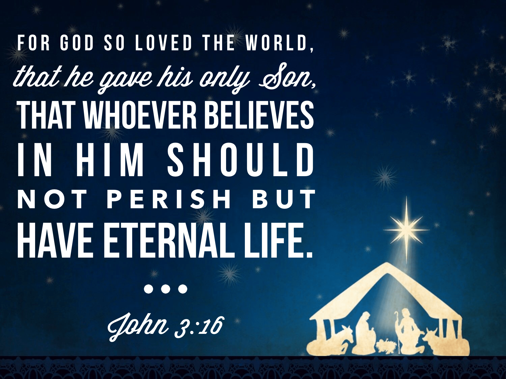 Daily Bible Verse About Jesus And Christmas