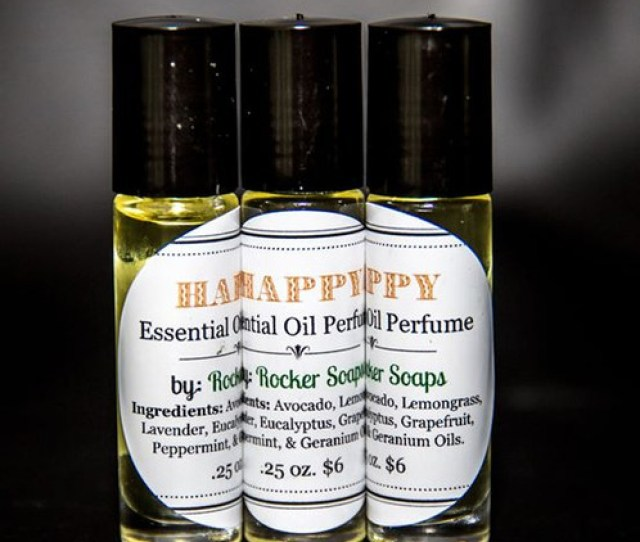 Happy Is A Delightful Uplifting Blend Of Essential Oils  Oz Ingredients Avocado Oil Lavender Lemongrass Grapefruit Eucalyptus Peppermint