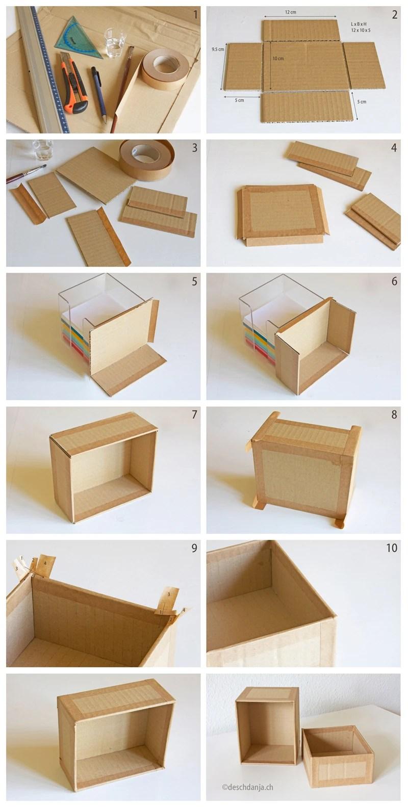 Cara Membuat Kotak Kemasan : membuat, kotak, kemasan, Membuat, Kotak, Limbah, Kardus
