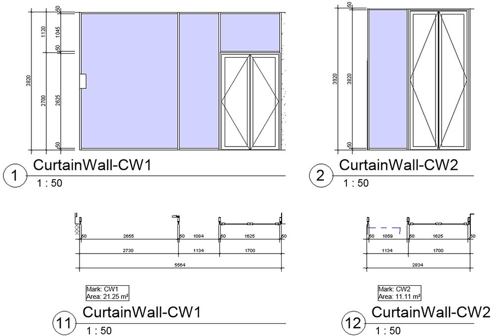 documenting curtain walls
