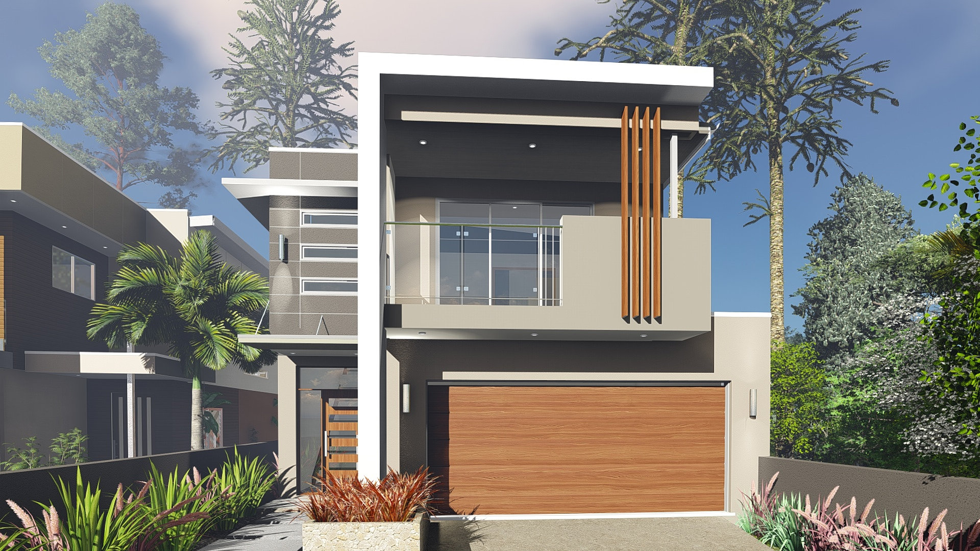 Small Lot Homes Narrow Block Designs Brisbane