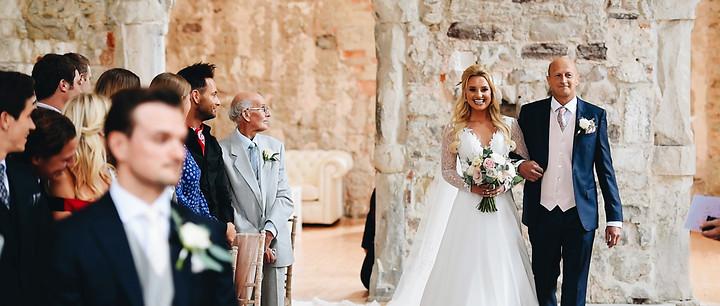 London Paleo Girl wedding | Lulworth Castle