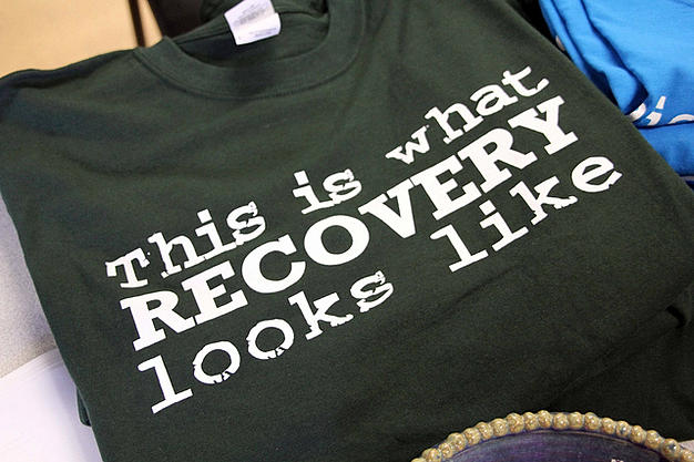 This is whqt recovery looks like t-shirt pannellbytes