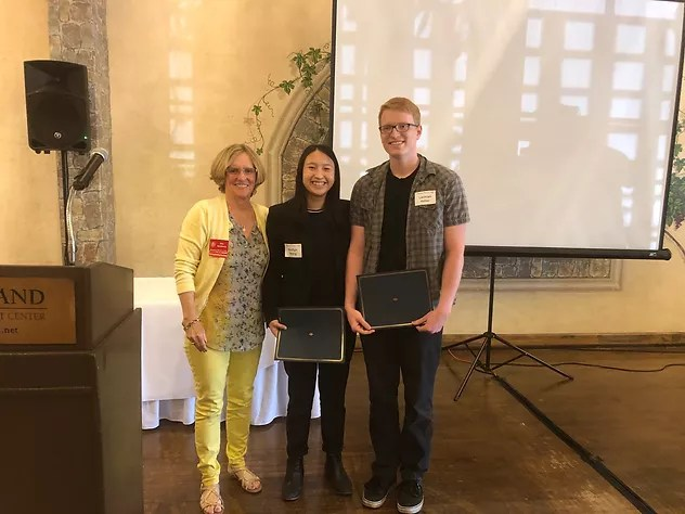 Rossmoor Women's Club Honors two busy students