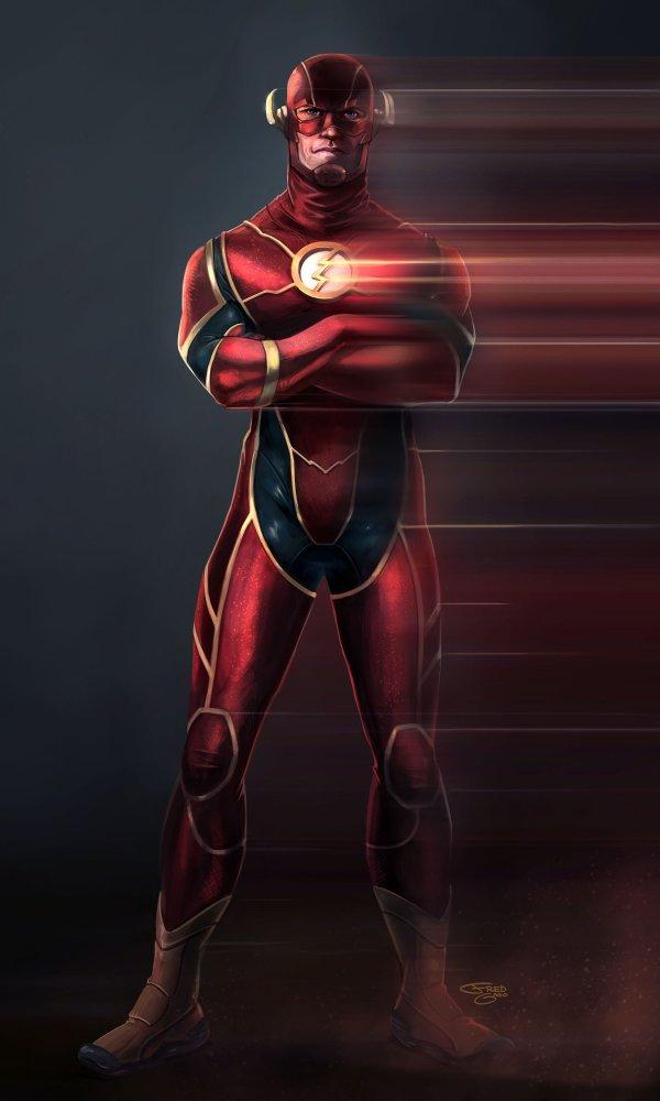 Flash DC Comics Concept Art